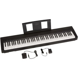 bc3124f9ebf The Yamaha P71 is a fully weighted digital piano that s a great choice for  both amateur and enthusiast piano players. Able to replicate the feel of an  ...